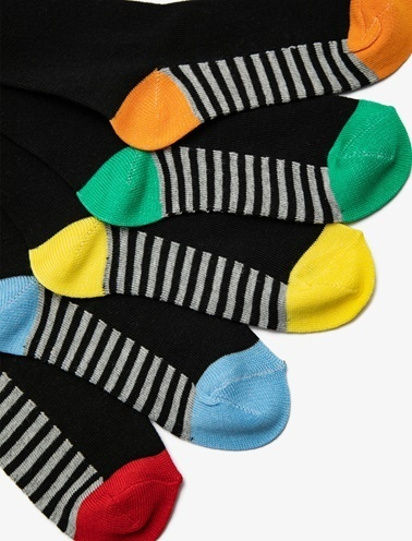 Koton Kids 5'li Erkek Çocuk Çorap Siyah